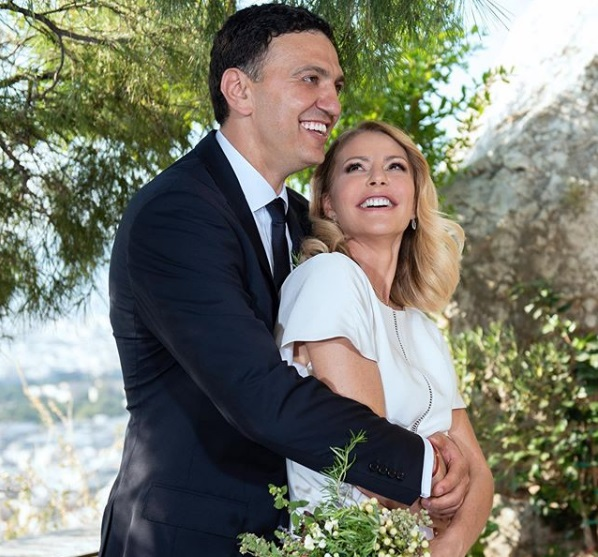 H φωτογραφία του ευτυχισμένου ζευγαριού, την οποία ανήρτησε η νύφη στα social media