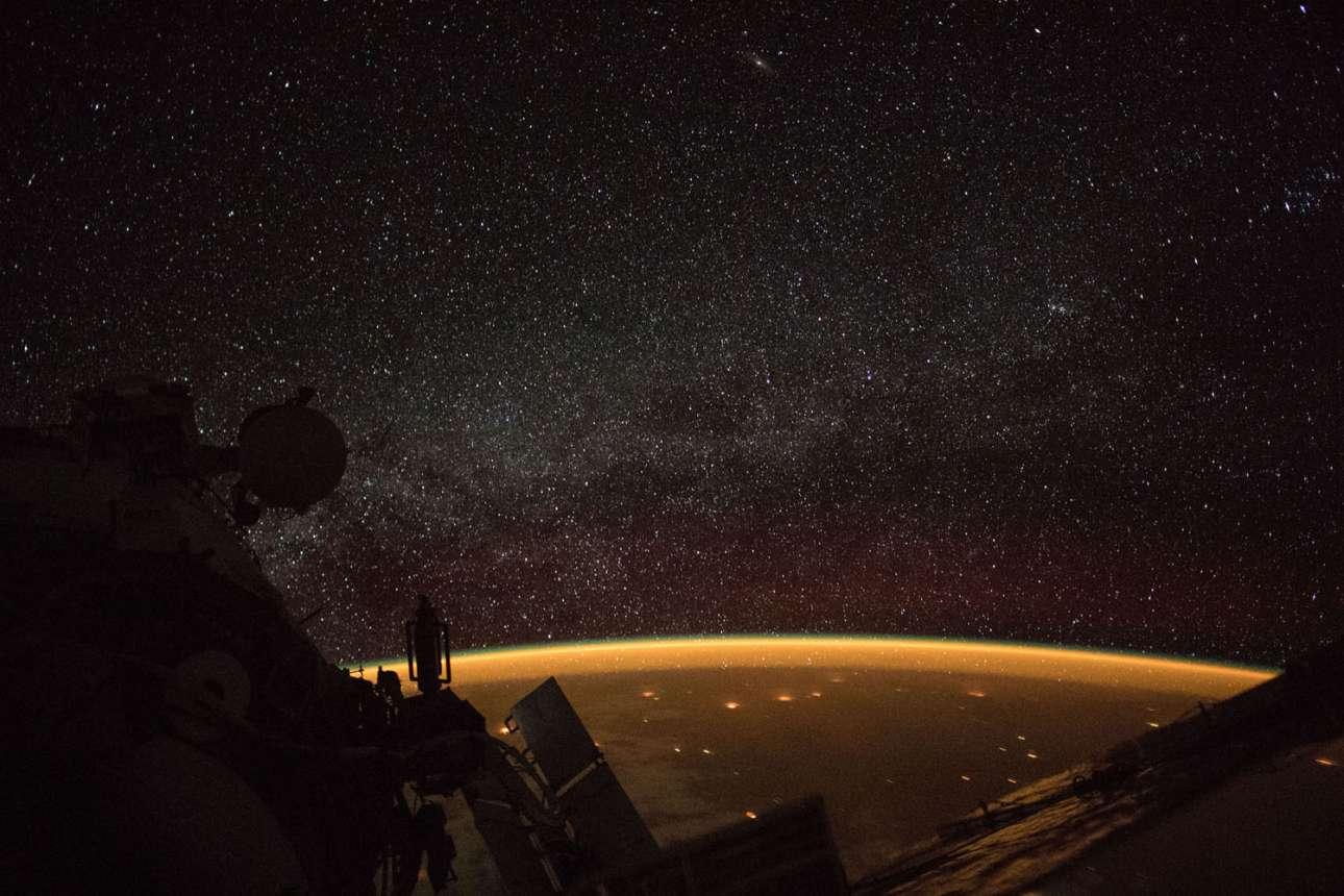 7 Οκτωβρίου 2018. Η Αυστραλία από ψηλά, από πάρα πολύ ψηλά, όπως τη βλέπει ο αστροναύτης του Διεθνούς Διαστημικού Σταθμού