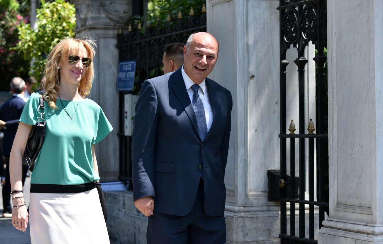 Ο νέος υπουργός Δικαιοσύνης Κώστας Τσιάρας