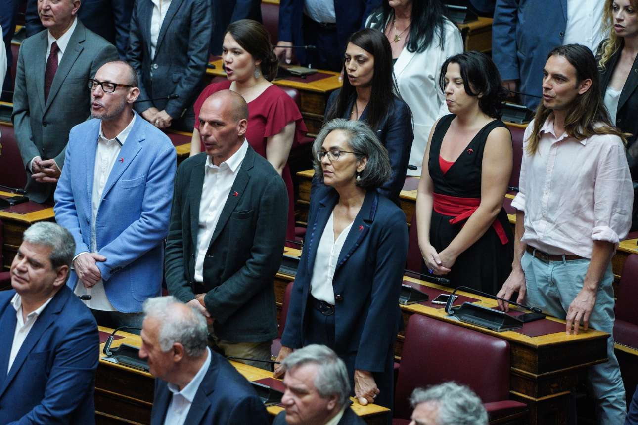 Οι βουλευτές του ΜέΡΑ25