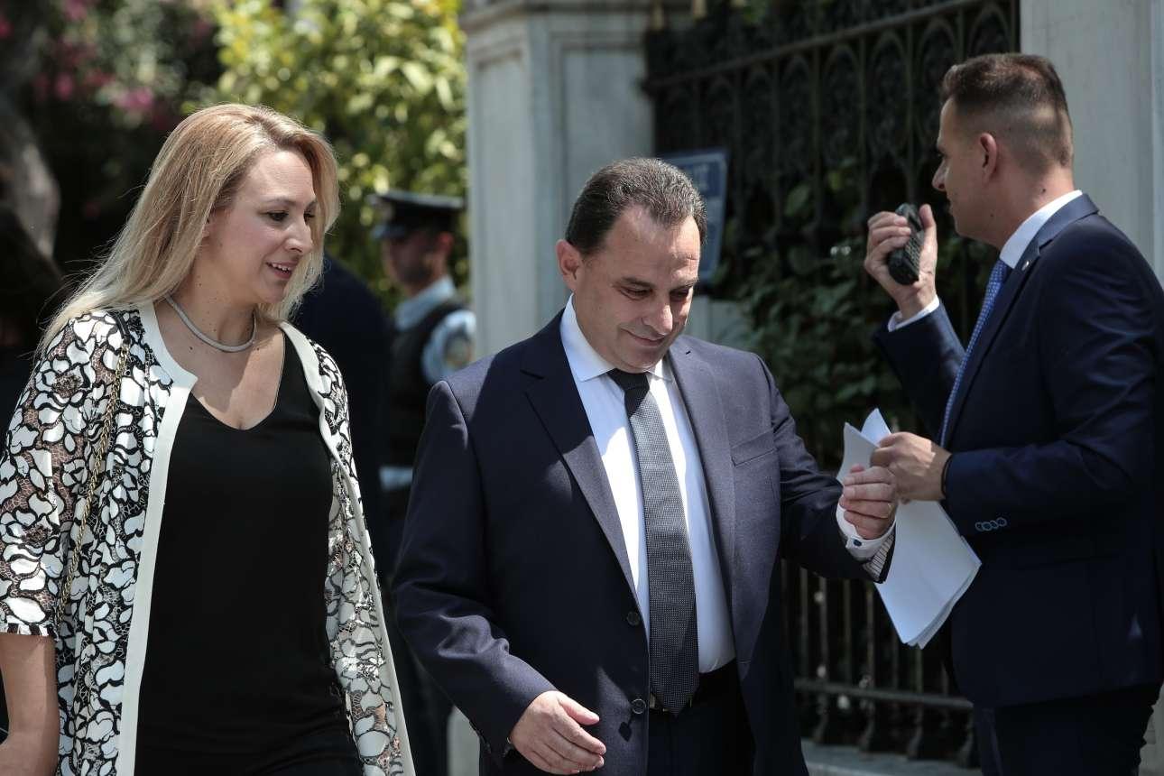 Ο Γεώργιος Γεωργαντάς, υφυπουργός αρμόδιος για θέματα απλούστευσης διαδικασιών στο υπουργείο Ψηφιακής Διακυβέρνησης