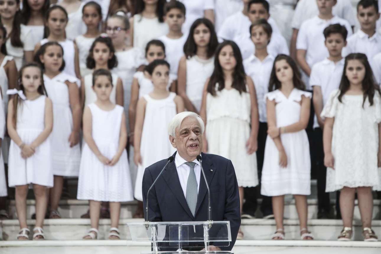 Ο Πρόεδρος της Δημοκρατίας Προκόπης Παυλόπουλος απευθύνει το μήνυμά του