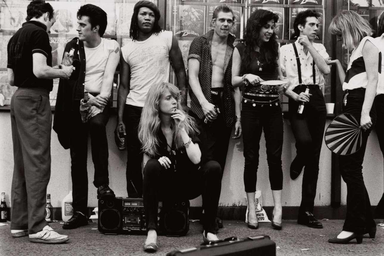 Οι Clash στη Νέα Υόρκη, στα γυρίσματα της ταινίας ο «Βασιλιάς της Κωμωδίας» του Μάρτιν Σκορσέζε, το 1981
