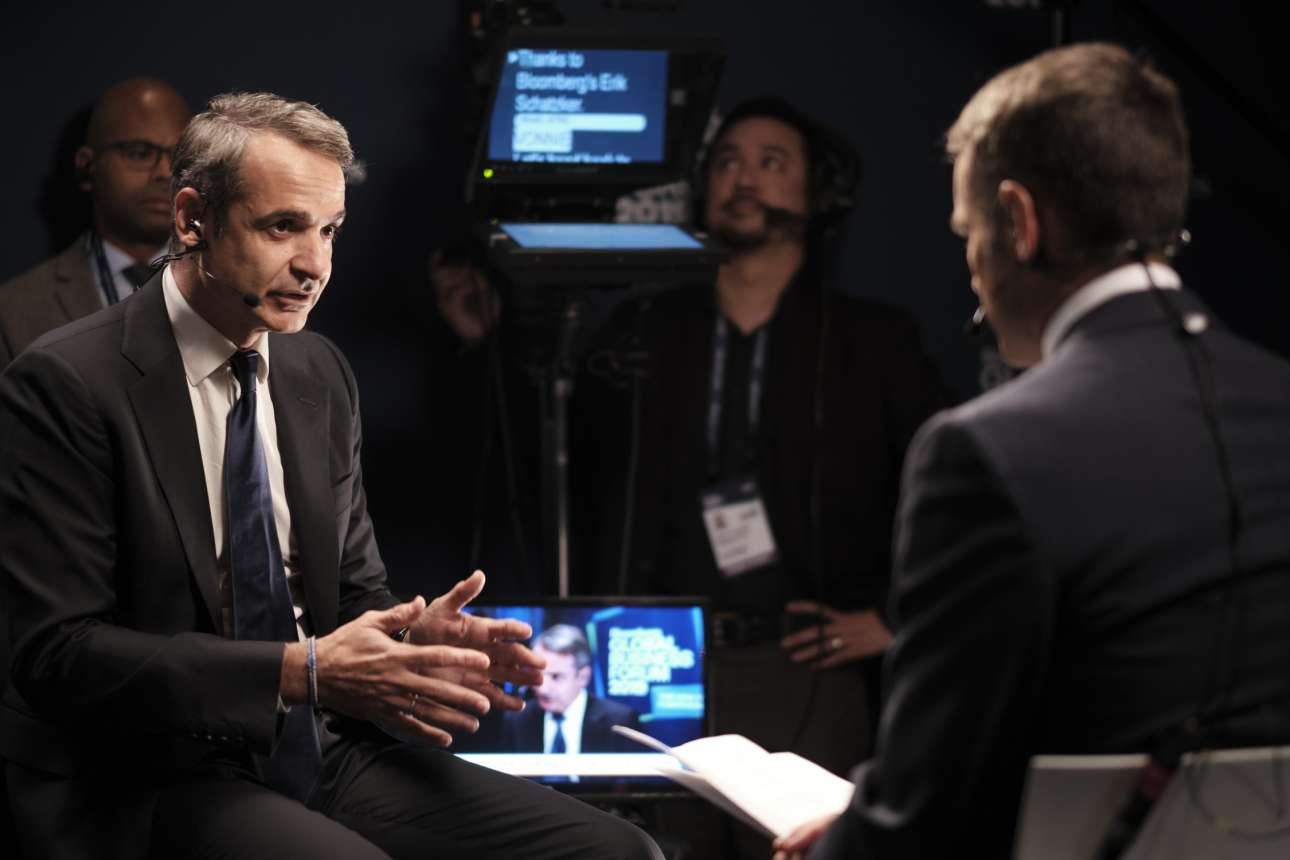 Στη συνέντευξη στο Bloomberg