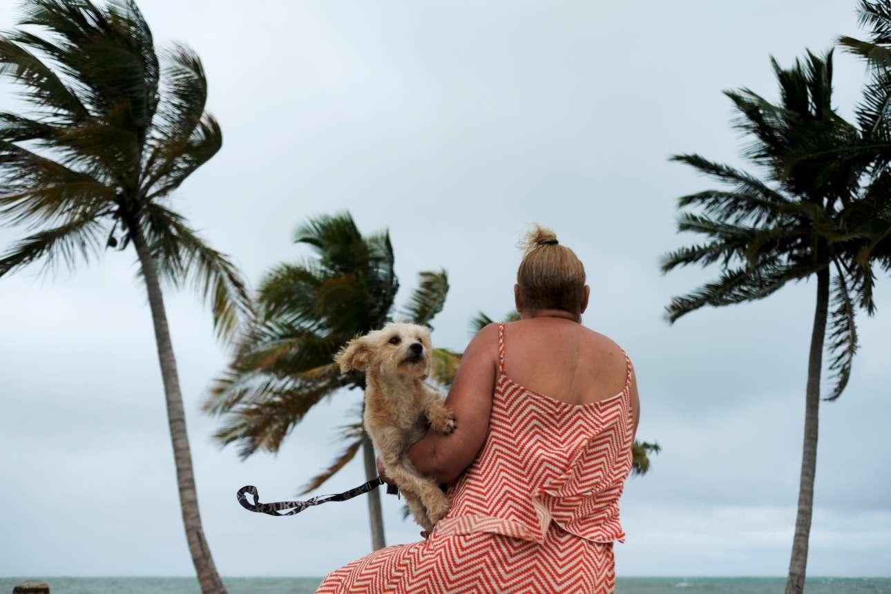 Η τροπική καταιγίδα Κάρεν πλησιάζει την πόλη Yabucoa, στο Πουέρτο Ρίκο