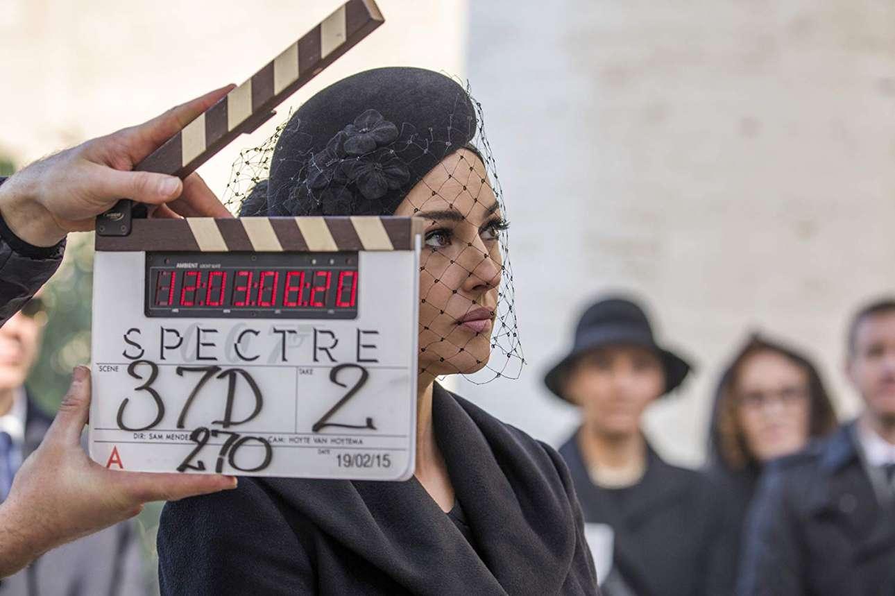 Στα γυρίσματα του «Spectre» του Σαμ Μέντες το 2015