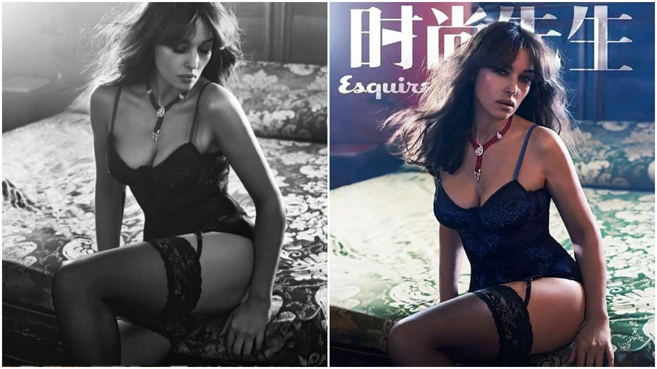 Ιούνιος 2017, φωτογραφημένη για την κινεζική έκδοση του Esquire