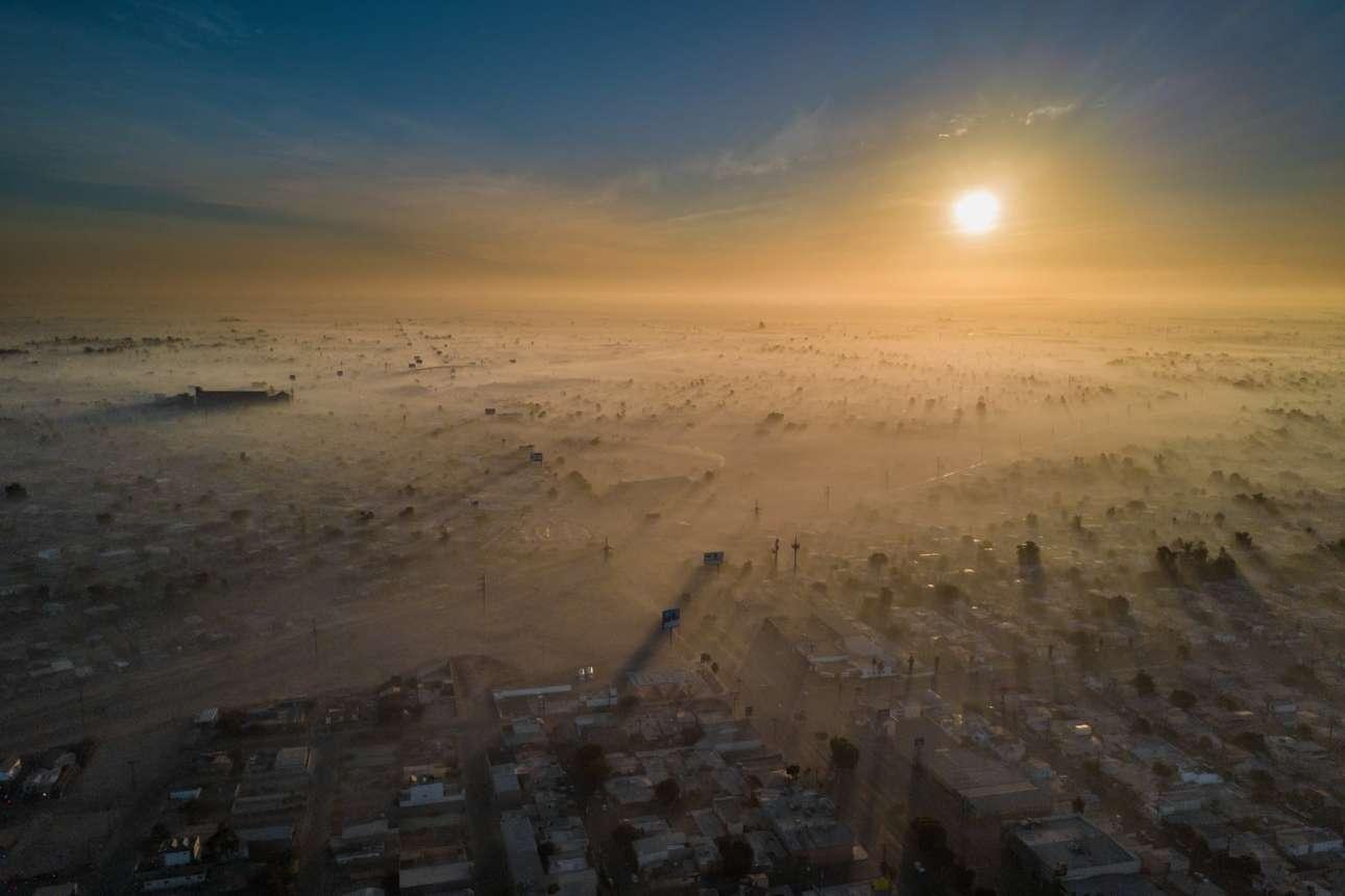 Βραβείο στην κατηγορία Βιώσιμες Πόλεις. Την 1η Ιανουαρίου του 2018, το Mεξικάλι ήταν μια από τις πιο μολυσμένες πόλεις στον κόσμο λόγω της κλιματικής αλλαγής, της γεωγραφικής του θέσης, της βιομηχανίας και των αυτοκινήτων