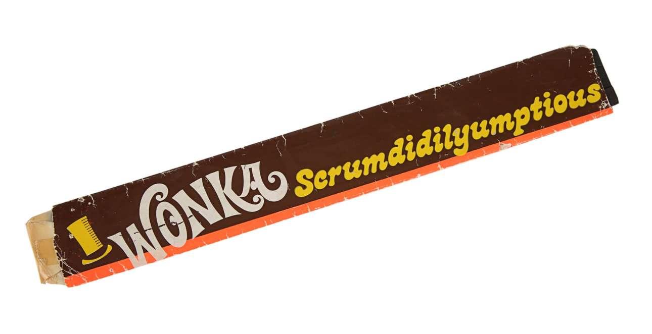 Σοκολάτα Scrumdidlyumptious από το μιούζικαλ «Ο Γουίλι Γουόνκα και το Εργοστάσιο Σοκολάτας». Εκτίμηση: 7.000 - 9.000 ευρώ