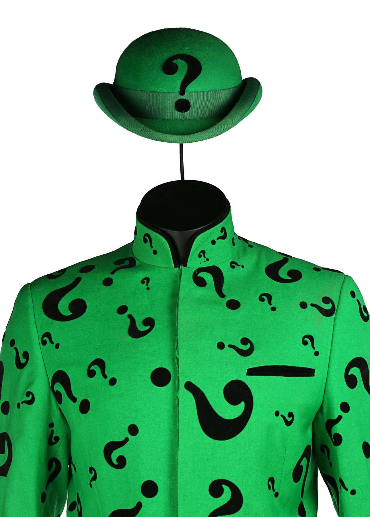 Το κοστούμι του «Γρίφου» - Τζιμ Κάρεϊ από την ταινία «Μπάτμαν για Πάντα» υπολογίζεται στα 12.000 - 17.000 ευρώ