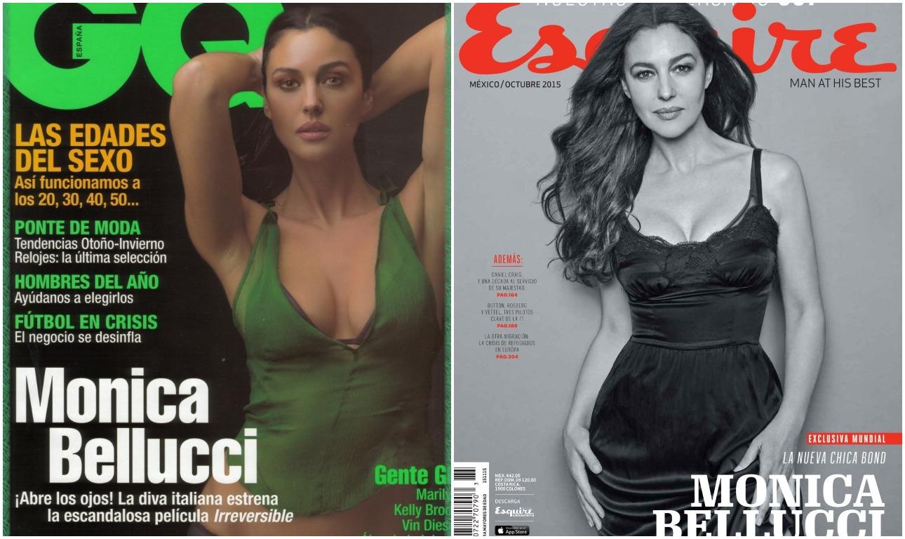 Μια θεά των εξωφύλλων, το όνειρο κάθε άνδρα. Στο ισπανικό GQ το 2002 και στο μεξικανικό Esquire το 2015