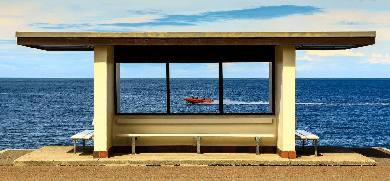 Τιμητική διάκριση στην κατηγορία Αναψυχή για την φωτογραφία με τίτλο «Βόλτες με σκάφη»