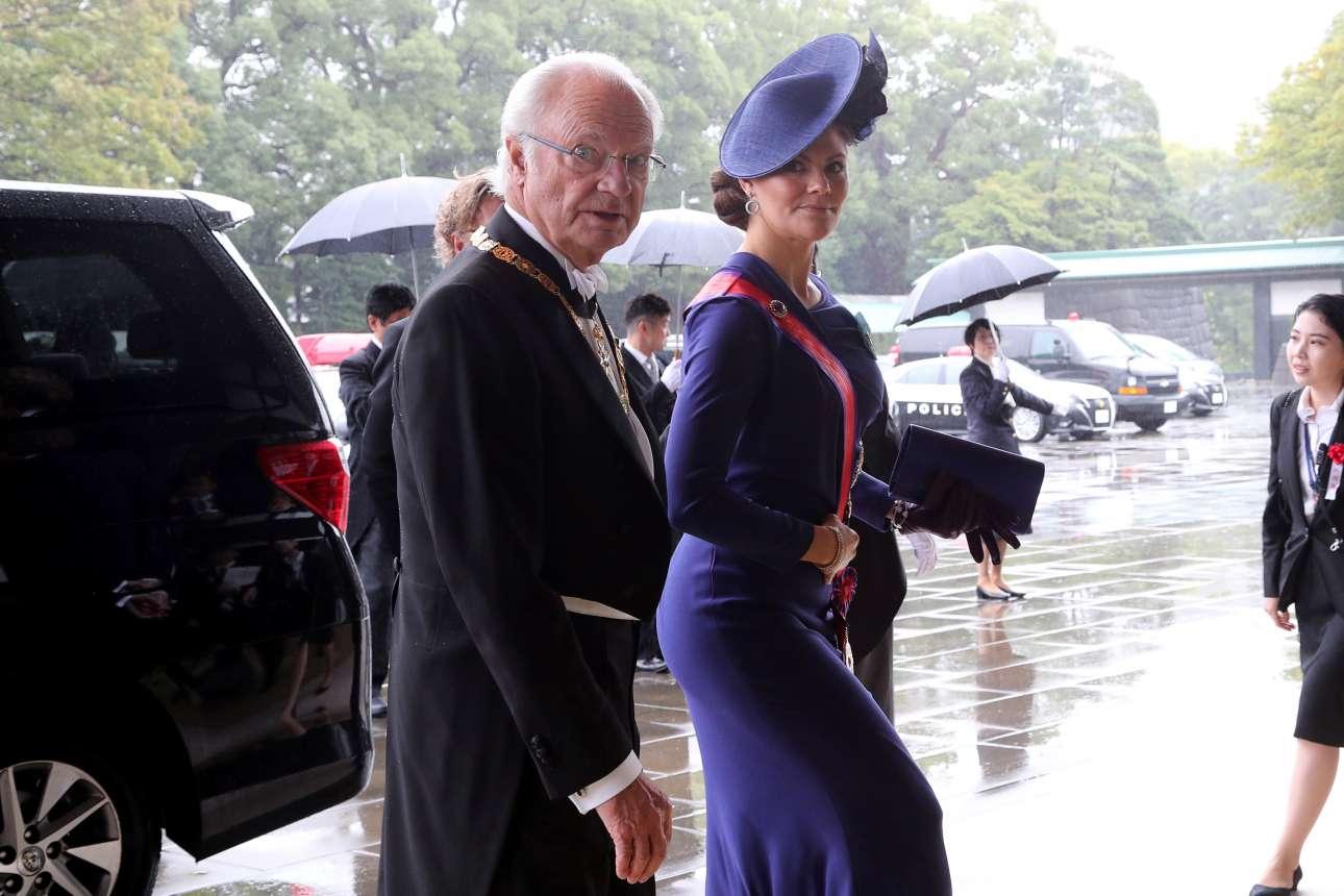 Ο βασιλιάς της Σουηδίας Κάρολος 16ος Γουσταύος και η κόρη του Βικτόρια