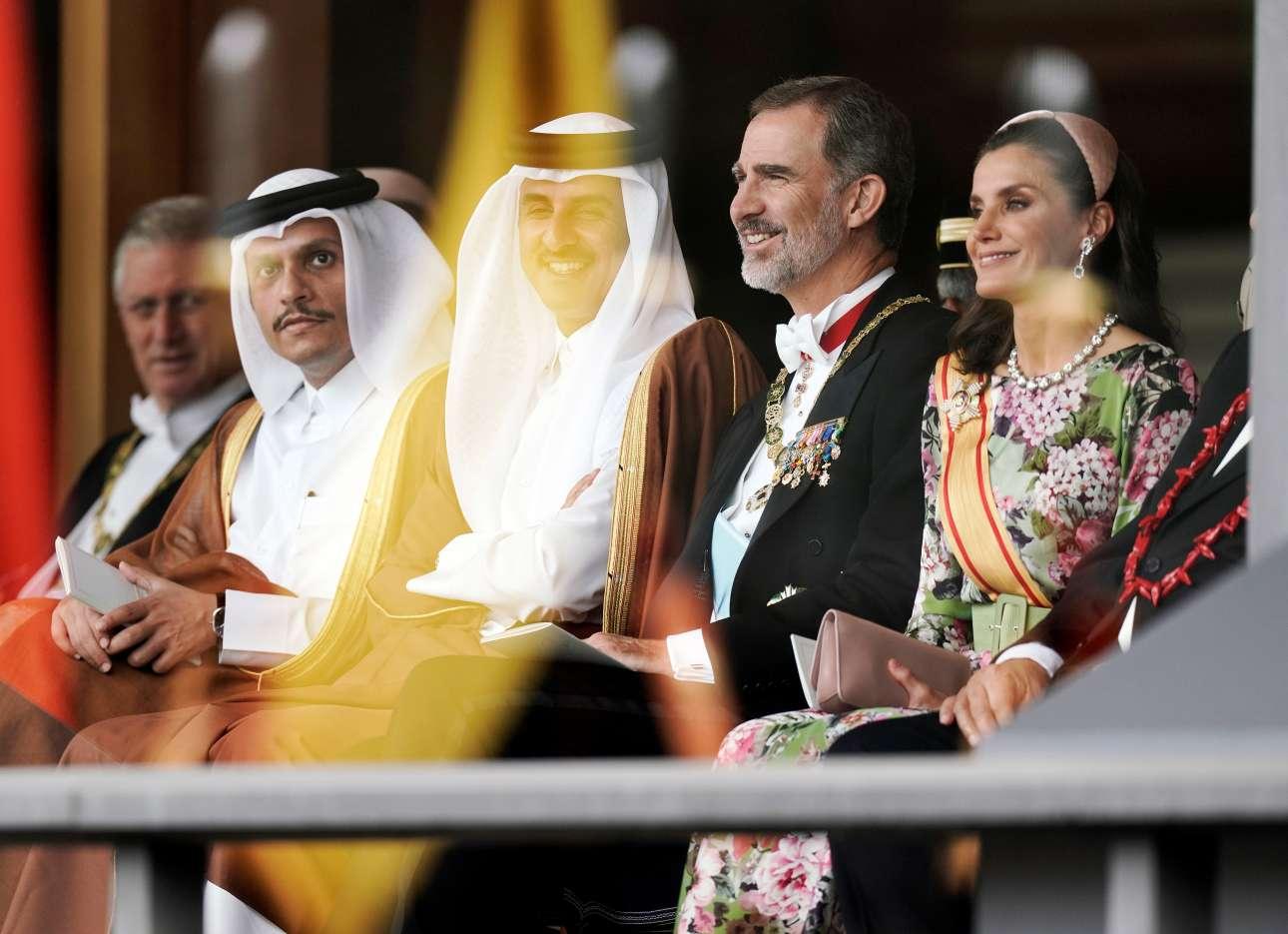 Το βασιλικό ζεύγος της Ισπανίας, Φελίπε και Λετίθια