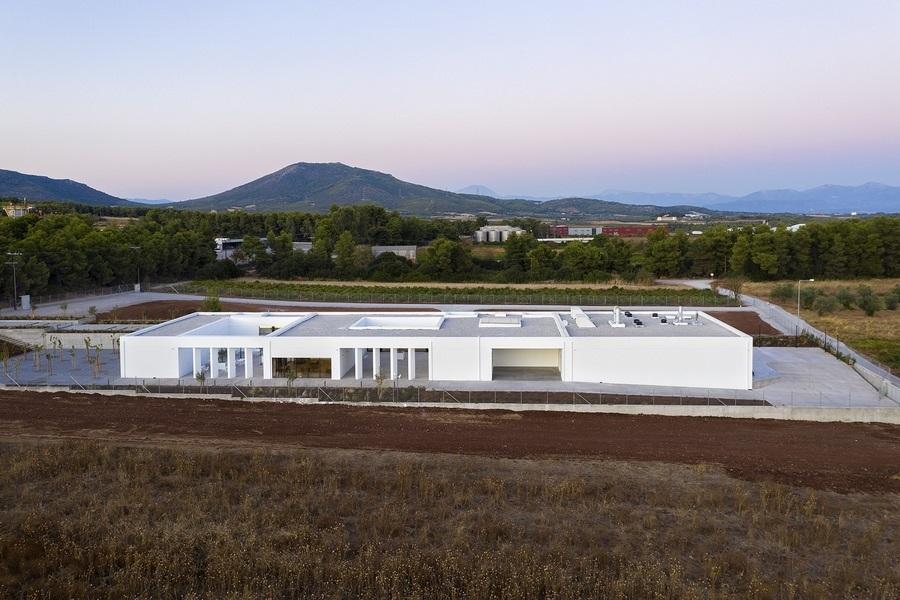 Το Κέντρο Αποτέφρωσης Νεκρών στη Ριτσώνα