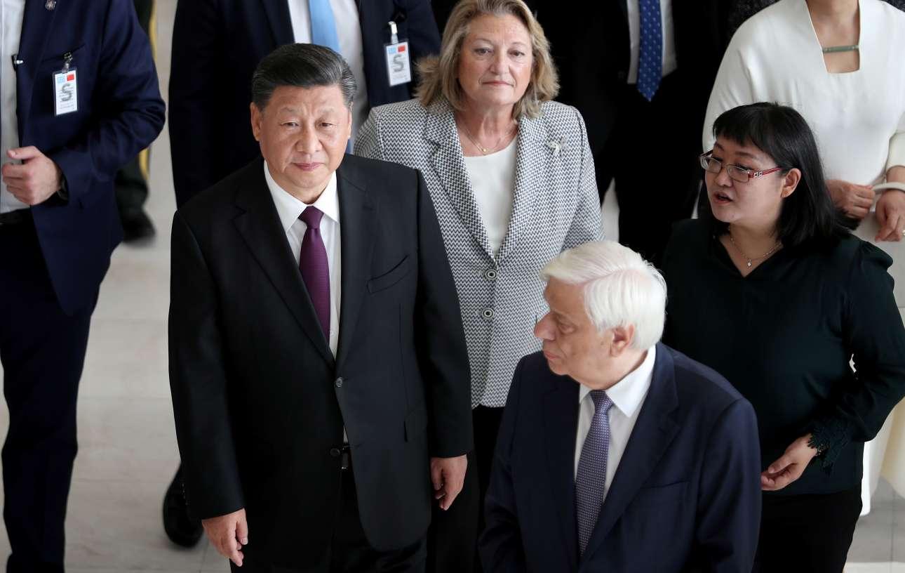 Ο πρόεδρος της Κίνας αναφέρθηκε κατά την επίσκεψή του στην παλαιότητα των δύο πολιτισμών, του ελληνικού και του κινεζικού, και τις προοπτικές τους