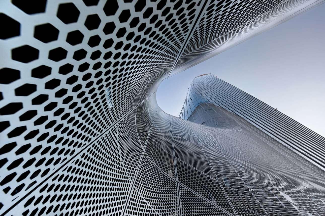 «Generali Tower», Μιλάνο, Ιταλία, γραφείο Zaha Hadid, στην κατηγορία «Εξωτερική όψη»