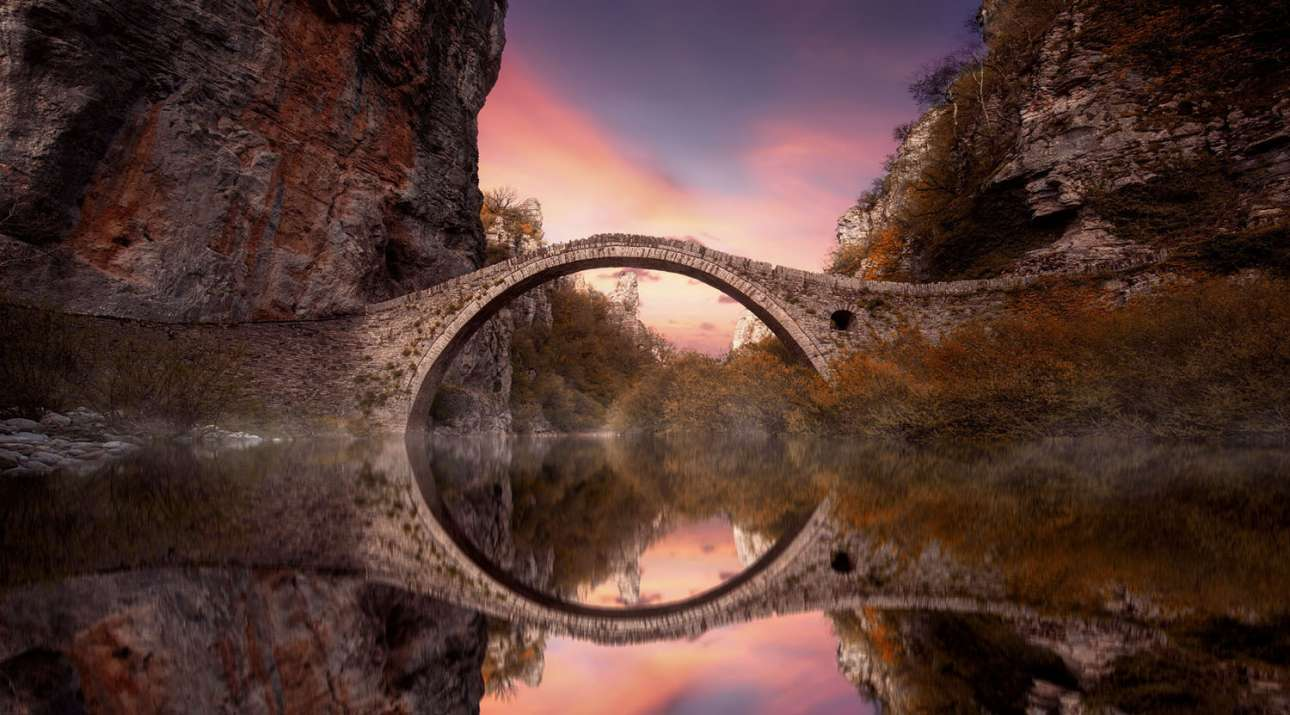 «Η πέτρινη γέφυρα», 37η θέση, κατηγορία Ενσωματωμένο Περιβάλλον-Αρχιτεκτονική
