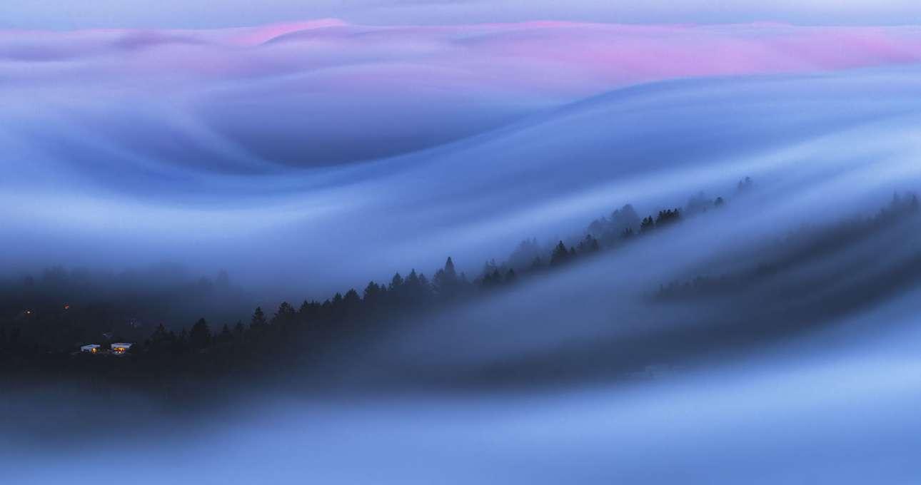 «Λόφος σαν μαλλί της γριάς», 7η ερασιτεχνική θέση, κατηγορία Φύση - Τοπίο