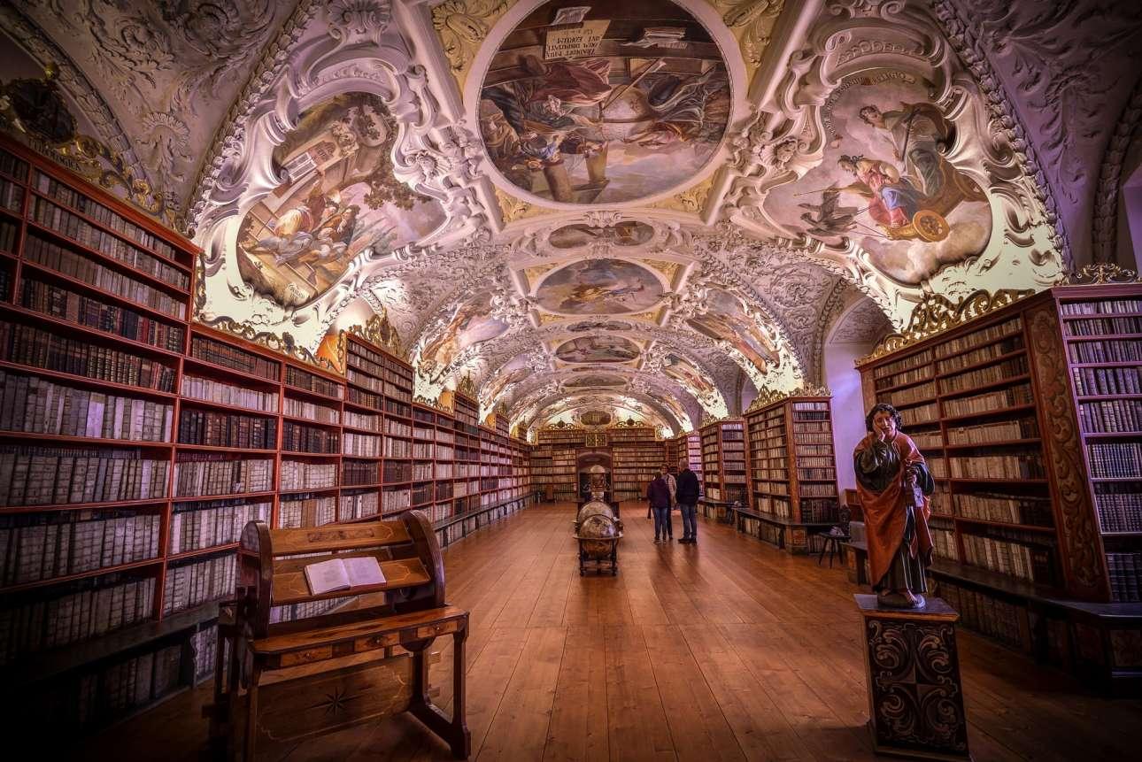 Το Μοναστήρι του Στράχοβ στην Πράγα είναι ένα από τα σημαντικότερα μοναστηριακά συγκροτήματα της Τσεχίας και ολόκληρου του κόσμου. Ιδρύθηκε το 1143 από τον επίσκοπο Ιωάννη της Πράγας και τον βασιλιά Βλαντισλαβ Β', Δούκα της Βοημίας για το τάγμα των Πρεμονστιανών μοναχών