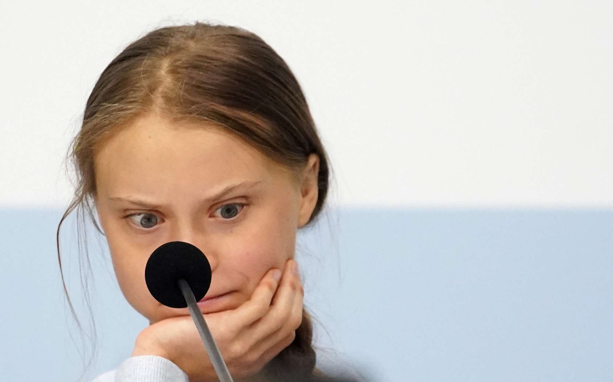Και στη Μαδρίτη η Γκρέτα, για το κλίμα: όχι, δεν είναι αλλήθωρο το παιδί, στραβό ήταν το κλήμα της στιγμής