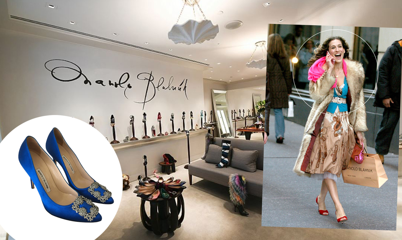 Manolo Blahnik Has Released A New Version Of Shoes