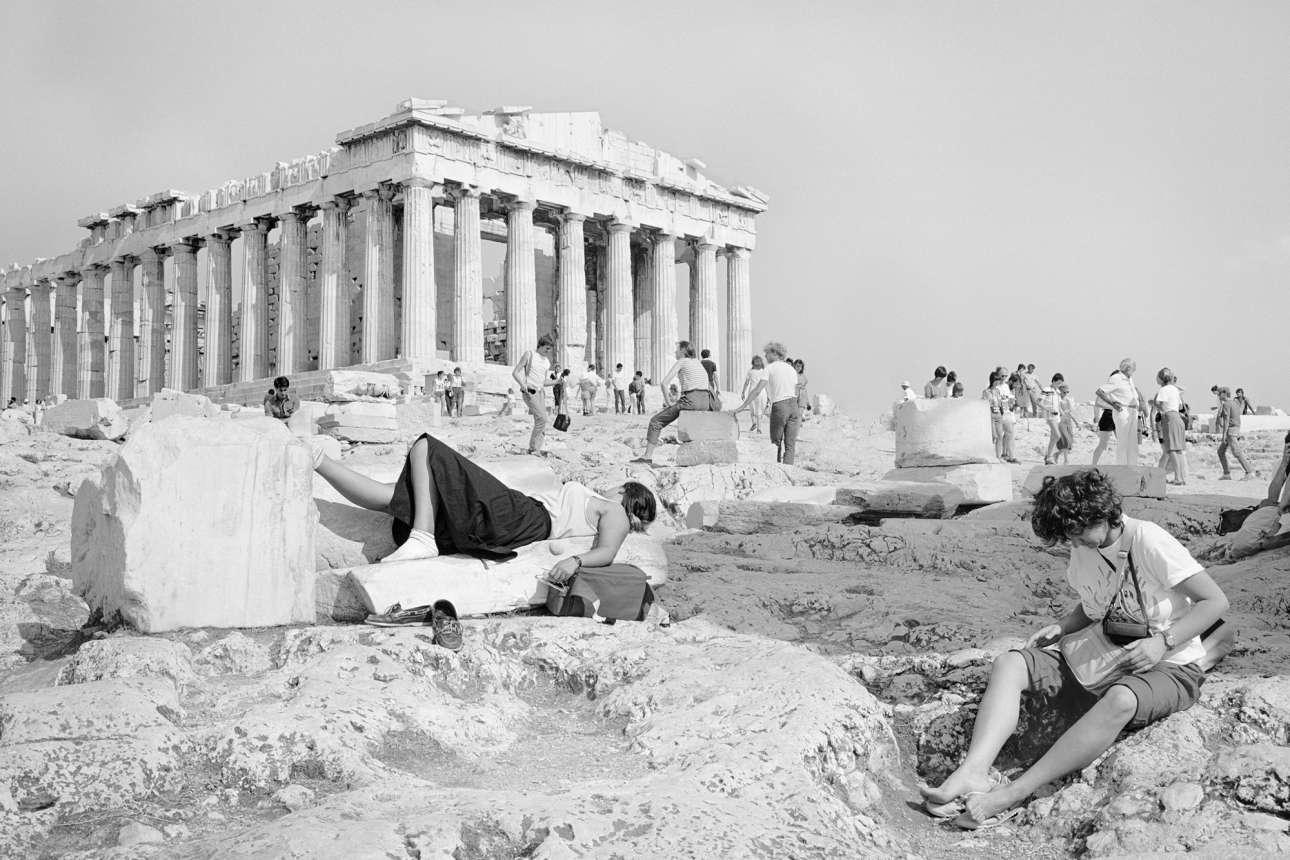 «Ηθελα να αιχμαλώτισω το εξαίσιο, λευκό φως της Ακρόπολης και τη λαμπερή πέτρα των σχιστόλιθων και των μνημείων της»