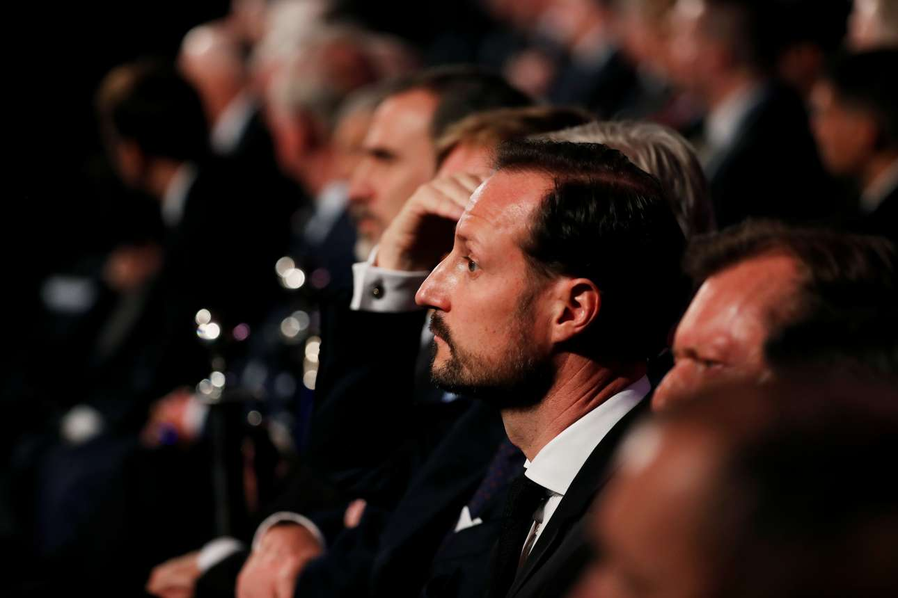 O πρίγκιπας Χάακον της Νορβηγίας εκπροσώπησε τη σκανδιναβική χώρα στις εκδηλώσεις