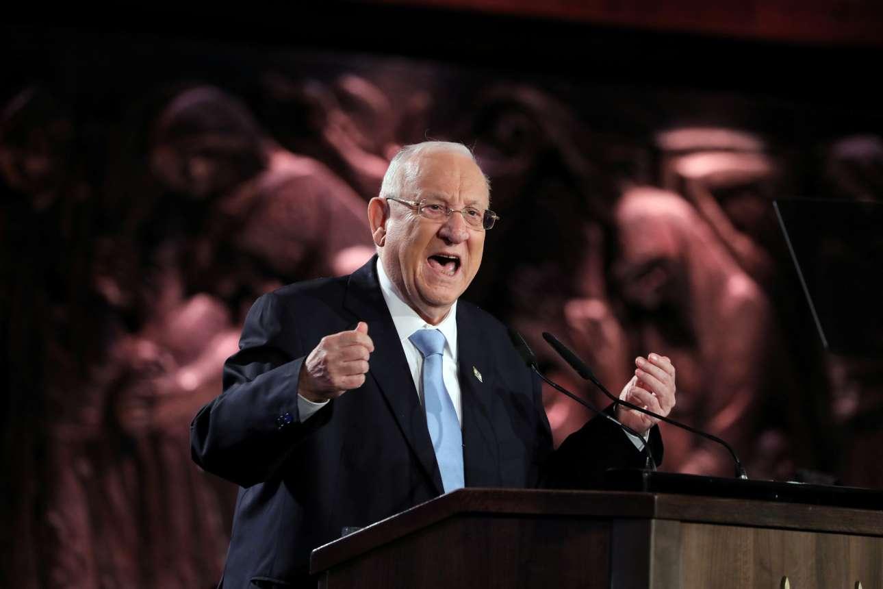 Παθιασμένη ήταν η ομιλία του ισραηλινού προέδρου στο Φόρουμ για το Ολοκαάτωμα