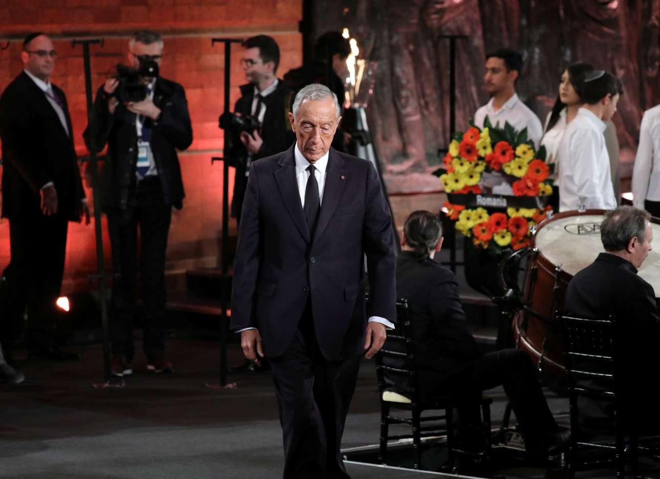 Ο πορτογάλος πρόεδρος Μαρτσέλο Ρεμπέλο ντε Σόουζα