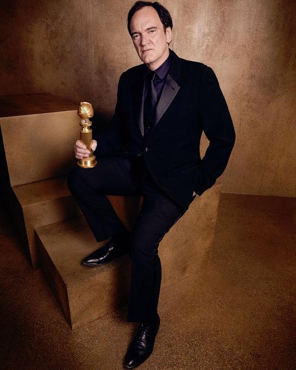 Ο Κουέντιν Ταραντίνο, σκηνοθέτης και σεναριογράφος του «Κάποτε στο Χόλιγουντ», πήρε τη Χρυσή Σφαίρα για την καλύτερη ταινία στην κατηγορία «κωμωδία ή μιούζικαλ»