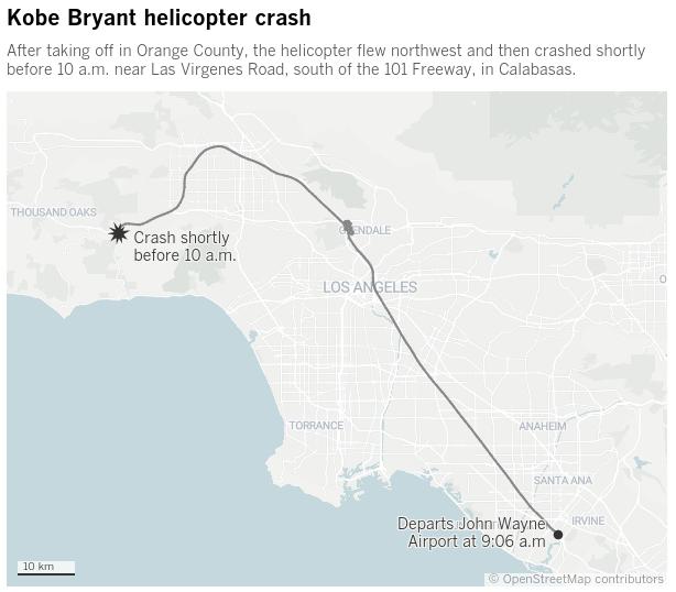 Η μοιραία πτήση (πηγή: LA Times)