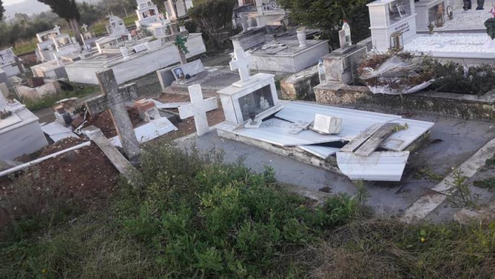 Μαθητές 12 ετών (!) τυμβωρύχοι σε νεκροταφείο της Καλαμάτας