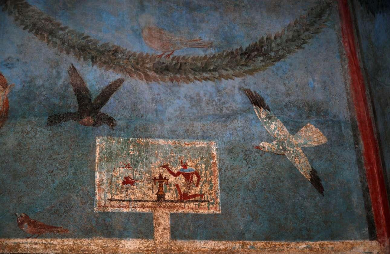 Ακόμα μία τοιχογραφία από το Σπίτι του Οπωρώνα