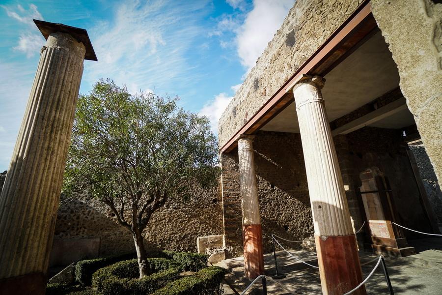 Εξωτερική άποψη της Οικίας του Οπωρώνα