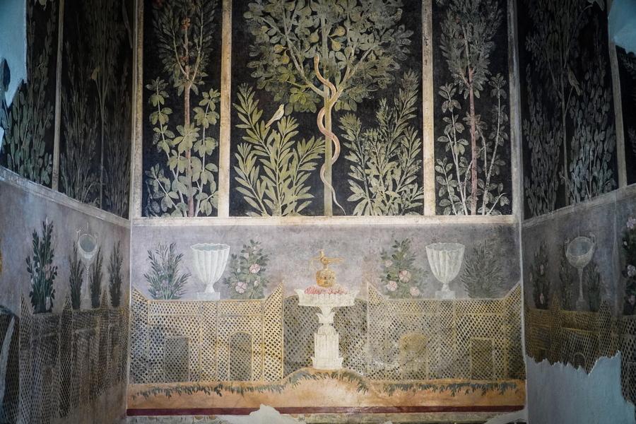 Υπέροχη τοιχογραφία από το Σπίτι του Οπωρώνα