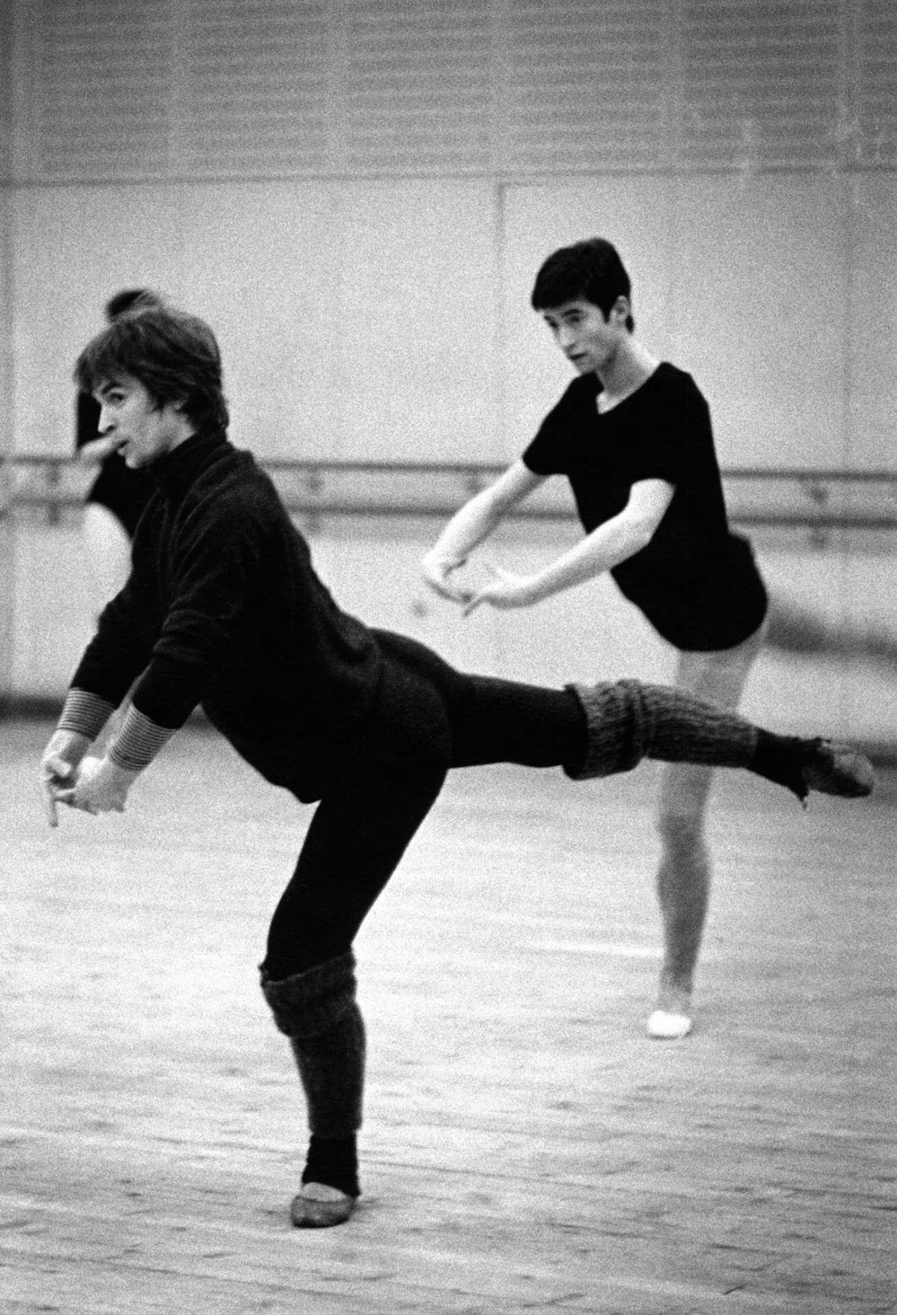 1966: o Ρούντολφ Νουρέγιεφ κάνει πρόβες για την παράσταση «Tancredi» στην Οπερα της Βιέννης