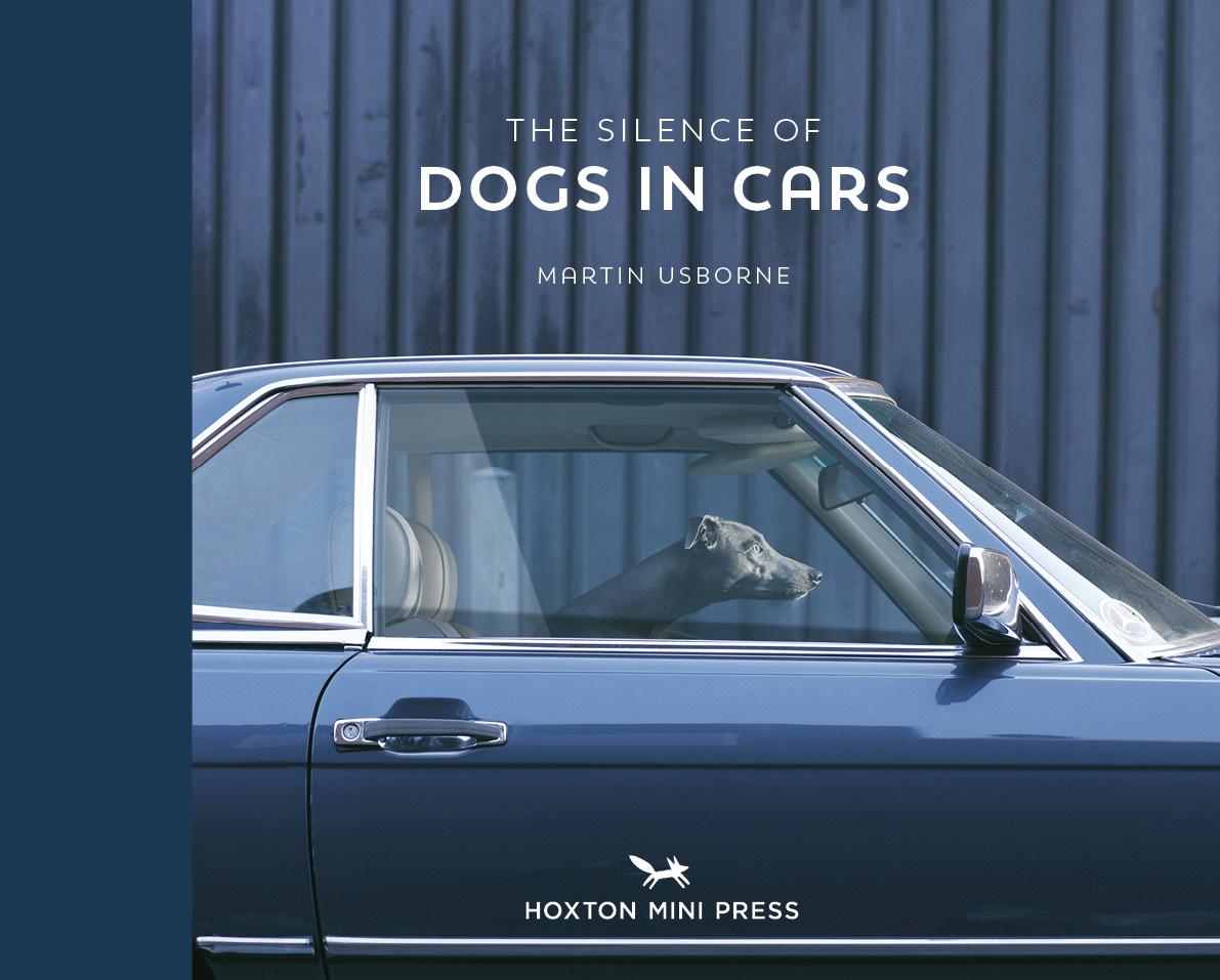 Το εξώφυλλο του νέου βιβλίου του Μάρτιν Ασμπορν, «The Silence of Dogs in Cars» («Η σιωπή των σκύλων στα αυτοκίνητα») από τις εκδόσεις Hoxton Mini Press