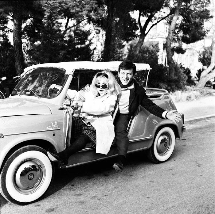 Με την Αλίκη Βουγιουκλάκη στην «Ψεύτρα» (1963) του Γιάννη Δαλιανίδη