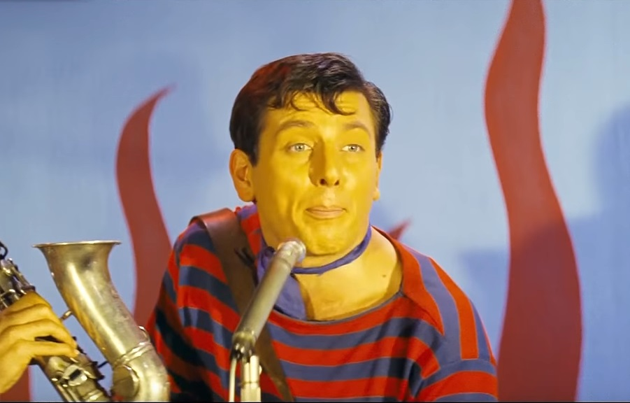 H στιγμή του «φσιτ! μπόινγκ!» στο «Κάτι να καίει» (1964)
