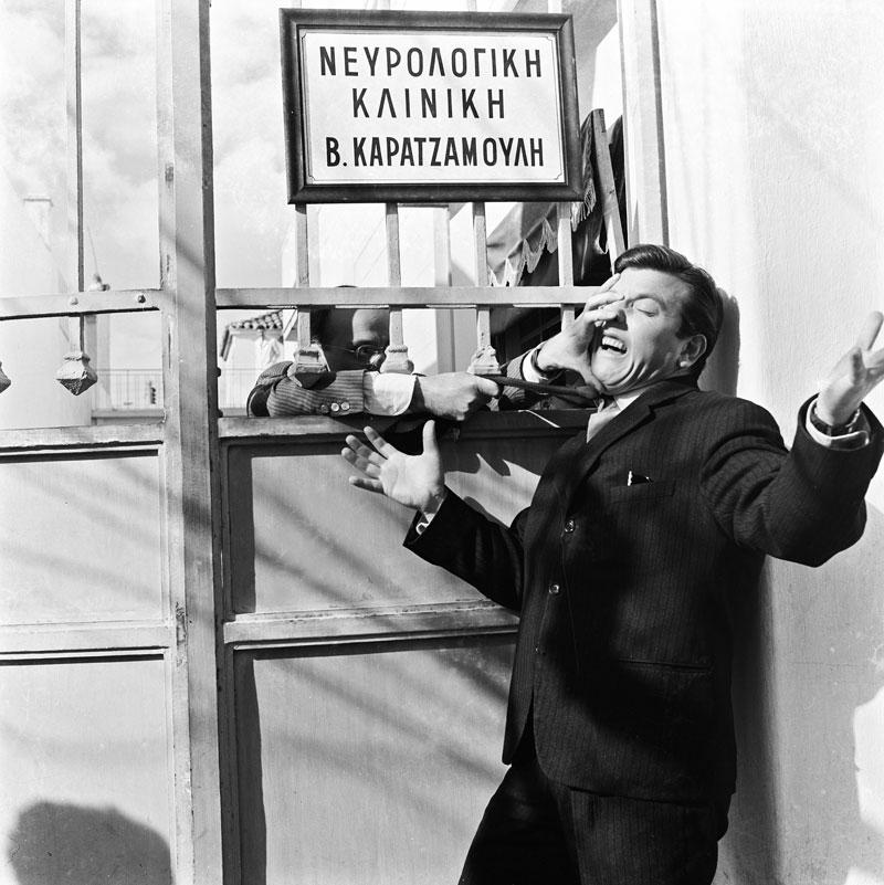Ως Λευτεράκης στην ταινία «Ο φίλος μου ο Λευτεράκης» (1963) του Αλέκου Σακελλάριου