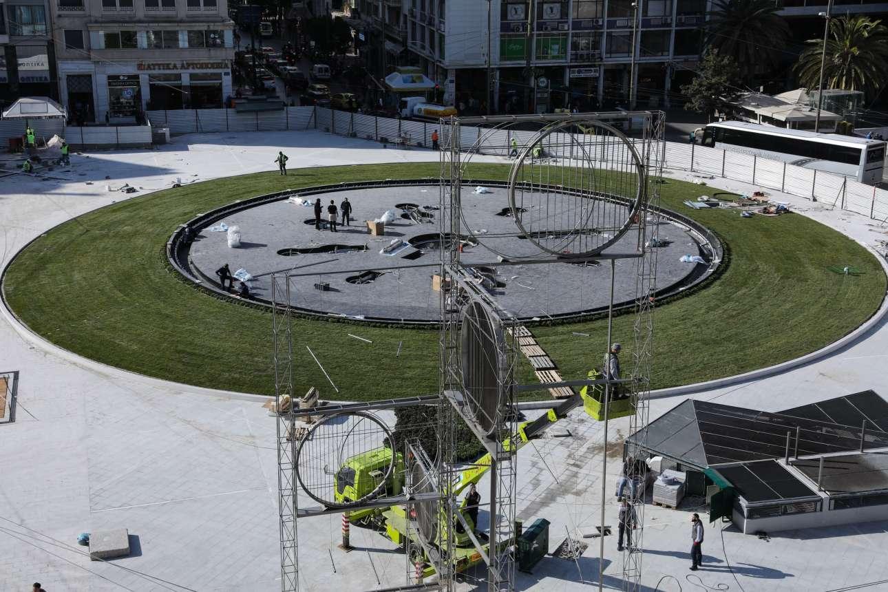 Το «Πεντάκυκλο» θα δώσει τη δική του πινελιά στο υδάτινο στοιχείο της πλατείας