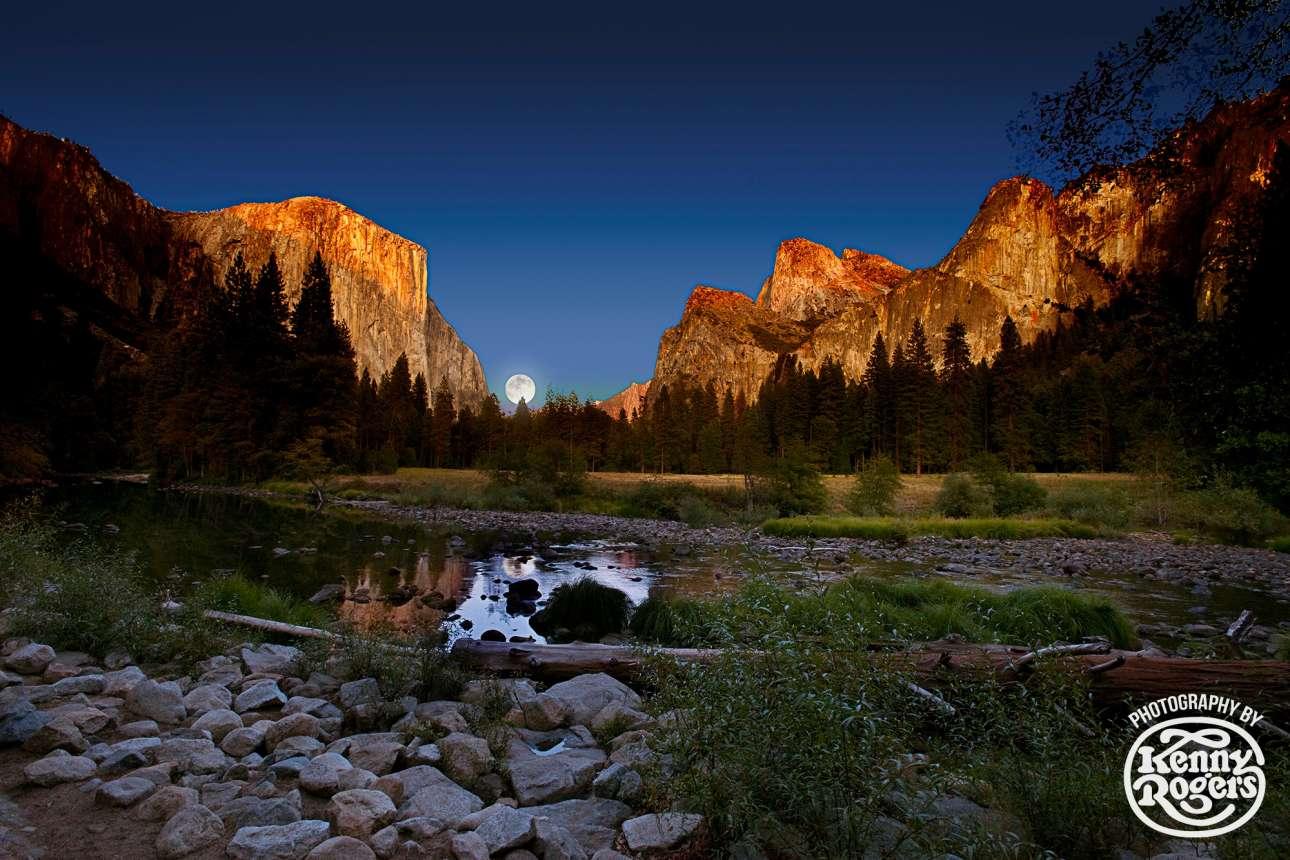 Η φυσική ομορφιά της απέραντης φύσης των ΗΠΑ ήταν από τα αγαπημένα θέματα του Ρότζερς