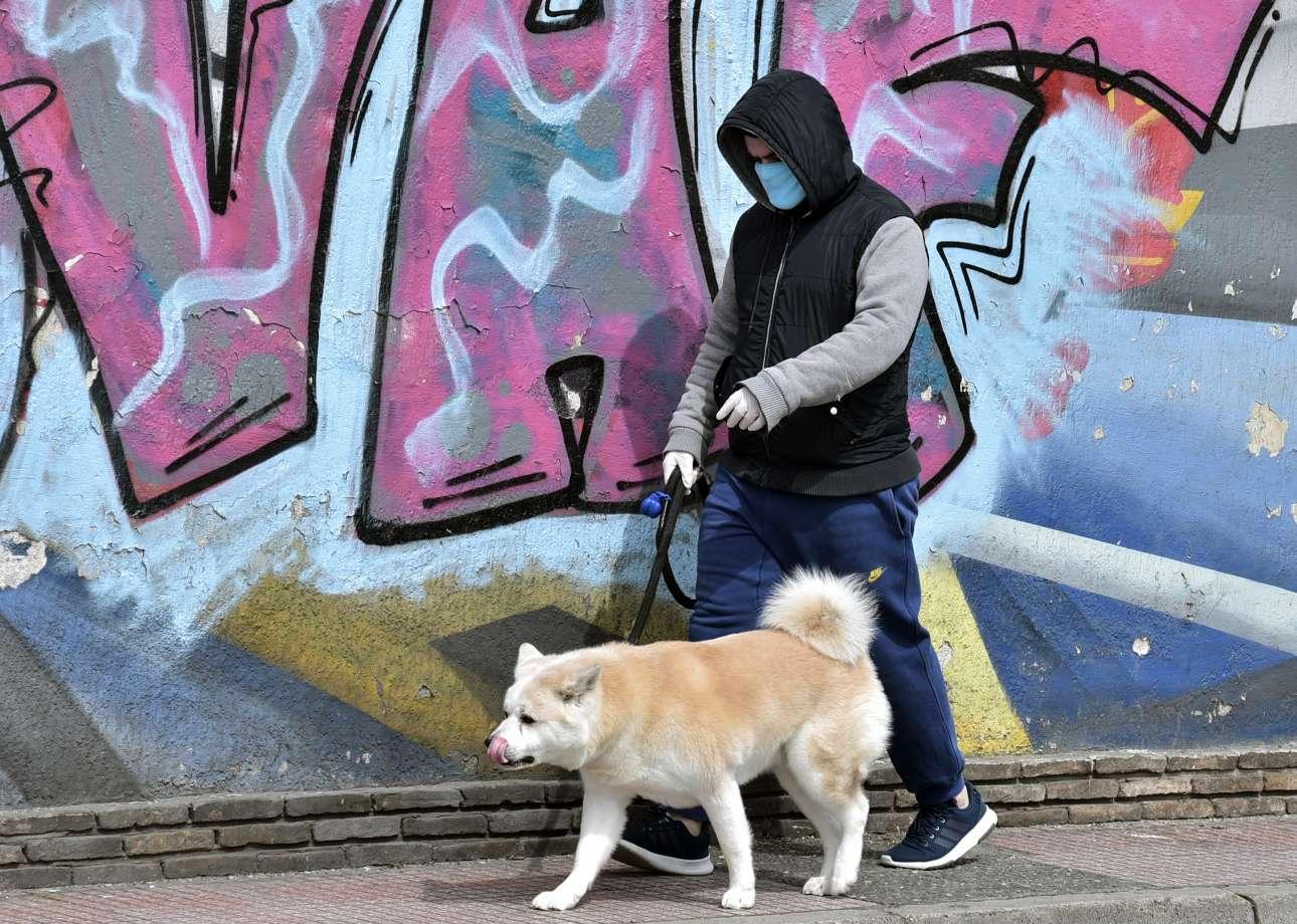 Τσιόδρας: Μην ανησυχείτε όσοι έχετε κατοικίδια ζώα