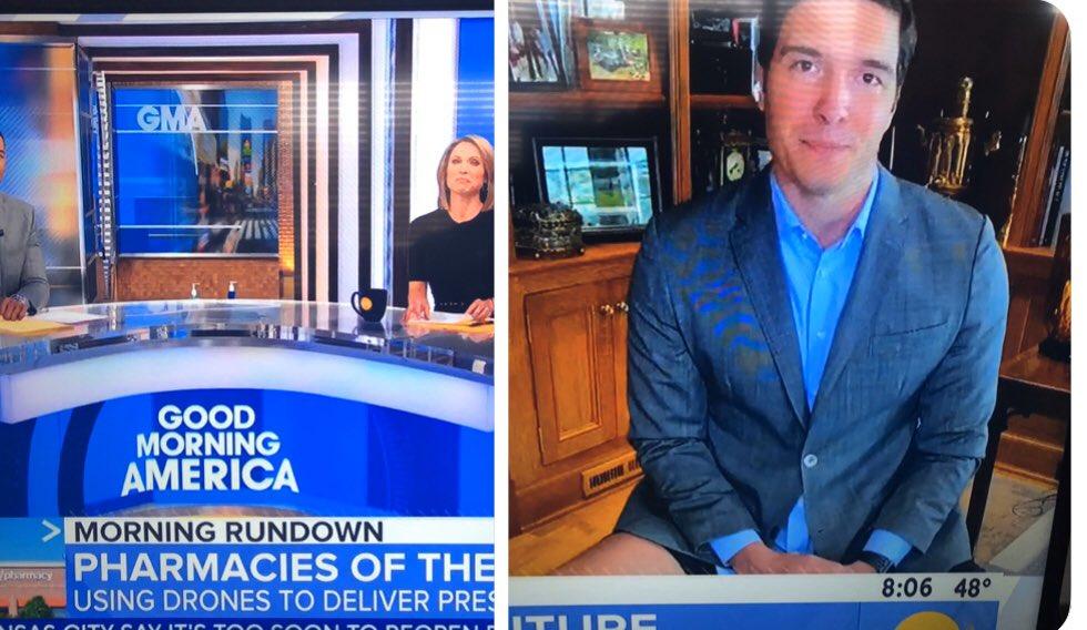 ΗΠΑ: Η κάμερα «τσάκωσε» ρεπόρτερ χωρίς… παντελόνι σε απευθείας σύνδεση με εκατ. τηλεθεατές