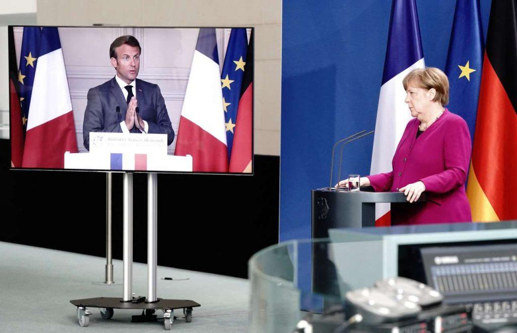 Πανδημία: Ταμείο 500 δισ. ευρώ με συμφωνία Μακρόν – Μέρκελ