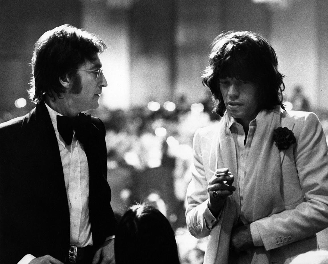 Τζον Λένον και Μικ Τζάγκερ στο Λος Αντζελες, το 1974