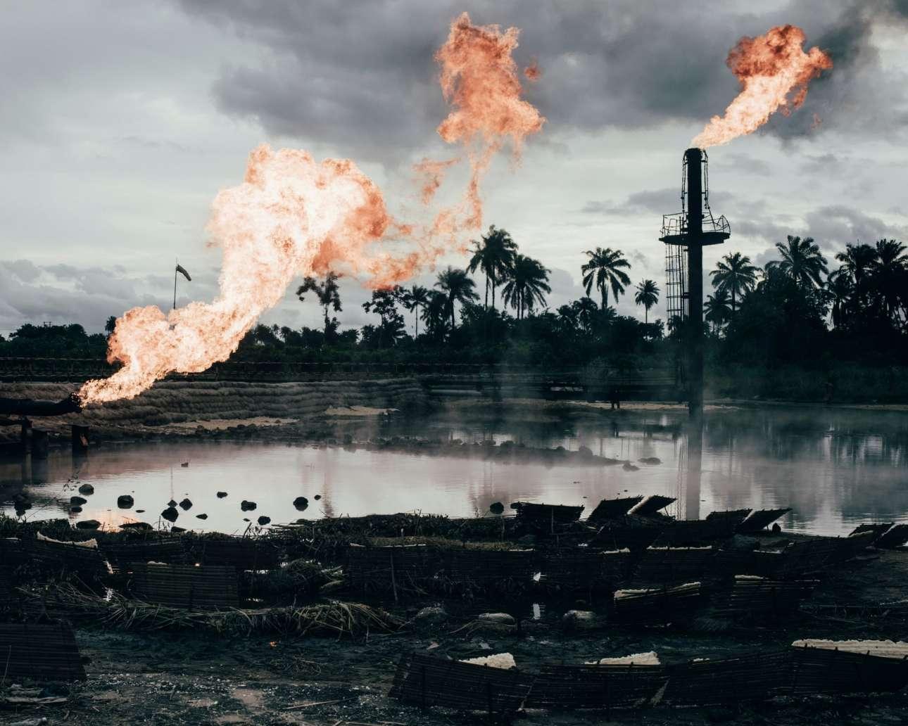 Το πρώτο βραβείο στην κατηγορία «Environment»  πήγε στον Ρόμπιν Χινς για τη σειρά του «Wahala» που εξετάζει τις επιπτώσεις της πετρελαιοβιομηχανίας στις κοινότητες και το οικοσύστημα του Δέλτα του Νίγηρα