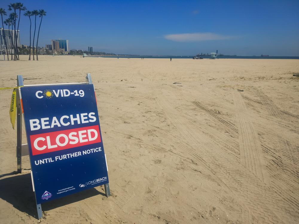 Κλείνουν λόγω κορονοϊού οι παραλίες του Λος Αντζελες