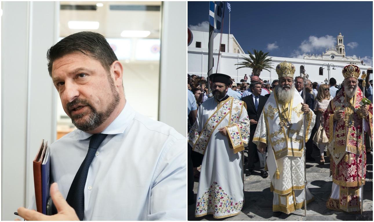 Χαρδαλιάς: Δεν θα γίνουν λιτανείες τον Δεκαπενταύγουστο – Ιερά Σύνοδος: θα γίνουν εκτός κι αν…